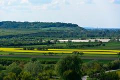 Vistula river valley Stock Photo