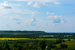 Vistula river valley Royalty Free Stock Photography