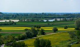 Vistula river valley Stock Photos
