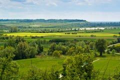 Vistula river valley Stock Photography