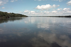 Vistula river view Royalty Free Stock Photography
