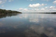 Vistula rzeki widok Fotografia Royalty Free