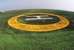 visual сигнала вертодрома Стоковая Фотография