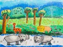 Visual arts. Royalty Free Stock Image