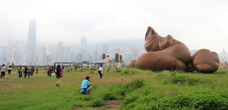 Visual culture exhibition at West Kowloon, Hong Kong Royalty Free Stock Images