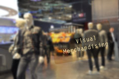 Visual merchandising label Royalty Free Stock Photography