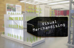 Visual merchandising tag Stock Photography