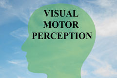 Visual Motor Perception concept Royalty Free Stock Photo