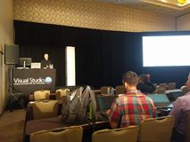 Visual studio live event in Austin TX Royalty Free Stock Image