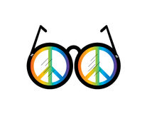 Visualice la paz Imagen de archivo