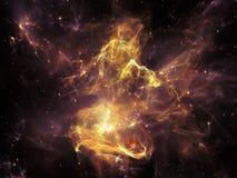 Visualisatie van Ruimte stock afbeeldingen
