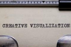 Visualisation créatrice photographie stock libre de droits