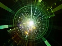 Visualisation d'émetteur de l'espace Photographie stock