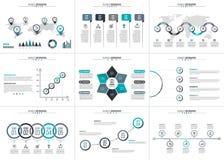 Visualisation de données commerciales Image libre de droits