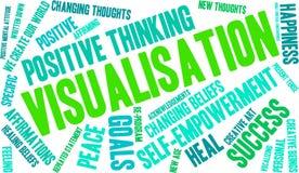 Visualisation Word Cloud Stock Image