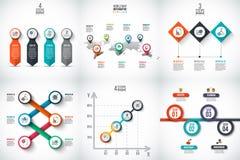 Visualização dos dados comerciais Imagem de Stock Royalty Free