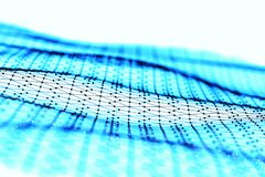 Visualização grande dos dados Fundo 3D Fundo grande da conexão de dados Rede do fio da tecnologia do Ai da tecnologia do Cyber fu Fotos de Stock