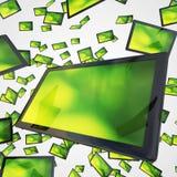 Visualizações ópticas de ecrã plano Foto de Stock Royalty Free