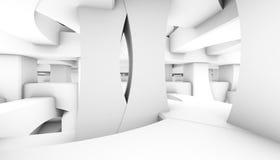 Visualización arquitectónica del extracto 3d stock de ilustración