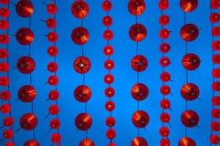 Visualización china de las linternas Imagenes de archivo