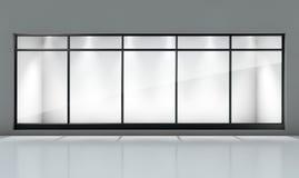 Visualización de la ventana del departamento imágenes de archivo libres de regalías