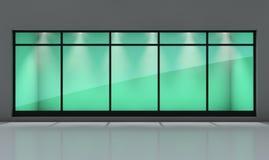 Visualización de la ventana del departamento Imagenes de archivo