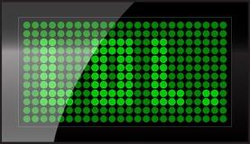 Visualización de LED Foto de archivo
