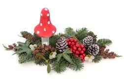 Visualización decorativa de la Navidad Imagen de archivo