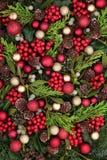 Visualización decorativa de la Navidad Fotos de archivo libres de regalías