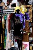 Visualización del boutique Foto de archivo libre de regalías