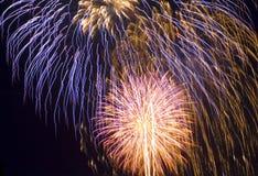 Visualización del día de fiesta Foto de archivo libre de regalías