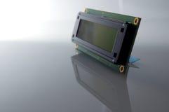 Visualización del LCD Fotografía de archivo libre de regalías