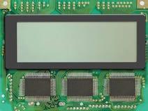 Visualización del LCD Fotografía de archivo
