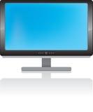 Visualización del LCD ilustración del vector
