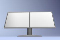 Visualización dual 07 del LCD Fotografía de archivo libre de regalías
