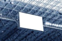 Visualización electrónica en el estadio Fotos de archivo