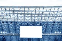 Visualización electrónica en el estadio Foto de archivo