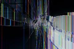 Visualización quebrada fondo abstracto Fotografía de archivo libre de regalías