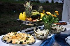 Visualización vegetariana del alimento Fotografía de archivo