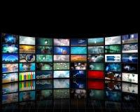Visualización video stock de ilustración