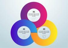 Visualizaci?n de los datos de negocio Carta de proceso Elementos abstractos del gr?fico, del diagrama con pasos, de opciones, de  stock de ilustración
