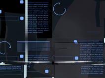 Visualización de alta tecnología Imagenes de archivo