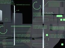 Visualización de alta tecnología Foto de archivo