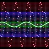 Visualización electrónica Foto de archivo