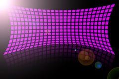 Visualizaciones abstractas del color de rosa Foto de archivo