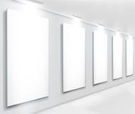 Visualizaciones en galería. Ilustración del vector. Imagen de archivo