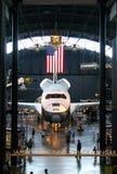 Visualizaciones en museo del aire y de espacio Foto de archivo libre de regalías