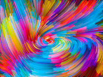 Visualization of Color Vortex Royalty Free Stock Images