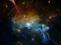 Visualization of Cosmos Royalty Free Stock Images
