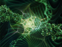 Visualization of DNA Stock Photo